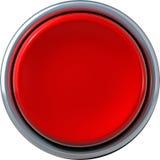 Bouton rouge Photo libre de droits