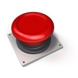 Bouton rouge illustration libre de droits