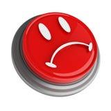 Bouton rouge Images libres de droits