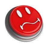 Bouton rouge Photographie stock libre de droits