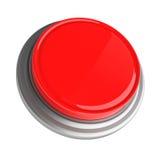 Bouton rouge Image libre de droits