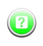 Bouton vert d'information illustration stock