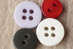 Boutonne de diverses couleurs Images stock