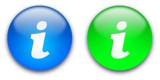 boutonne l'information Photos libres de droits