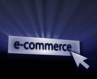 boutonnez le commerce électronique illustration de vecteur