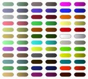 Boutonnez pour le site Web ou l'application avec la couleur multi illustration libre de droits