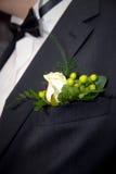 Boutonnière de mariage Image stock
