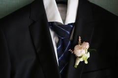 Boutonniere свадьбы Стоковая Фотография RF