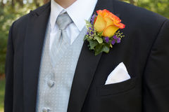 Boutonniere stock afbeelding