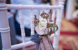 Boutonniere da flor fresca Imagens de Stock