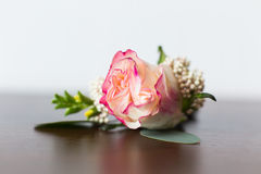 Boutonniere de mariage Photo stock