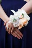 Boutonniere do casamento Fotografia de Stock Royalty Free