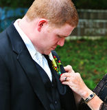 Boutonniere Love Stock Photos