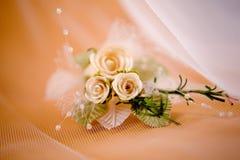 boutonnierebröllop royaltyfria foton