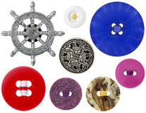 Boutons Image stock