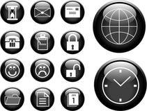 boutons Photographie stock libre de droits