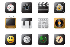 Boutons 2 de téléphone portable Photos stock