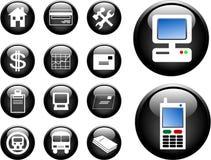 boutons 3D Photos stock