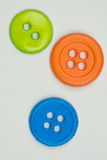 3 boutons Photo libre de droits