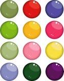 boutons Images libres de droits