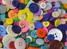 Boutons Photo stock