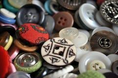 Boutons antiques Image libre de droits