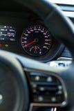 Boutons audio de contrôle de voiture Photo libre de droits