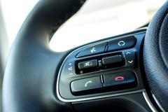 Boutons audio de contrôle de voiture Images stock