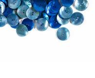 Boutons bleus Image libre de droits