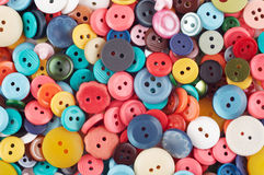 Boutons colorés Images stock