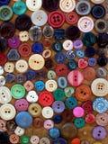 Boutons colorés Photos libres de droits