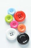 Boutons colorés Photographie stock libre de droits