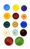 Boutons colorés de style de clavier numérique Photo libre de droits