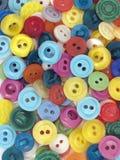 Boutons colorés Photo libre de droits