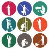 Boutons d'artisans Image libre de droits