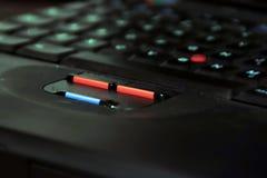 Boutons d'ordinateur portatif Image stock