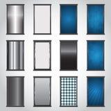 Boutons d'un rectangle Photo stock