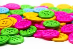 Boutons de beaucoup de couleurs image libre de droits