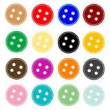 Boutons de bouton Illustration Stock