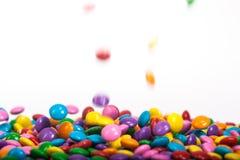 Boutons de chocolat Photo libre de droits