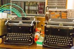 Boutons de clavier de vintage Photos libres de droits