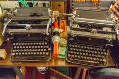 Boutons de clavier de vintage Photos stock
