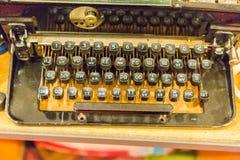 Boutons de clavier de vintage Images stock