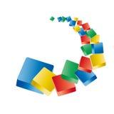 Boutons de couleur Images libres de droits