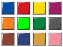 Boutons de couleur Image libre de droits