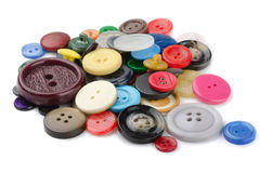 Boutons de couture Images stock