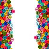 Boutons de couture colorés Photographie stock libre de droits