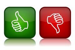 Boutons de feedback Image stock
