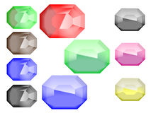 Boutons de gemme Photo stock