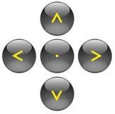 Boutons de navigation illustration de vecteur